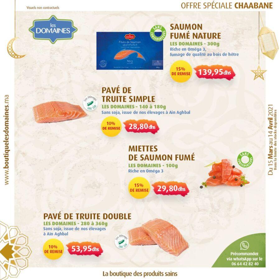 Catalogue Les Domaines Agricoles Spécial Chaâbane du 15 Mars au 14 Avril 2021