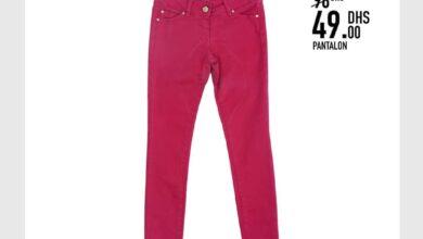 Soldes -50% chez Kids Avenue Pantalon pour fille 49Dhs au lieu de 98Dhs