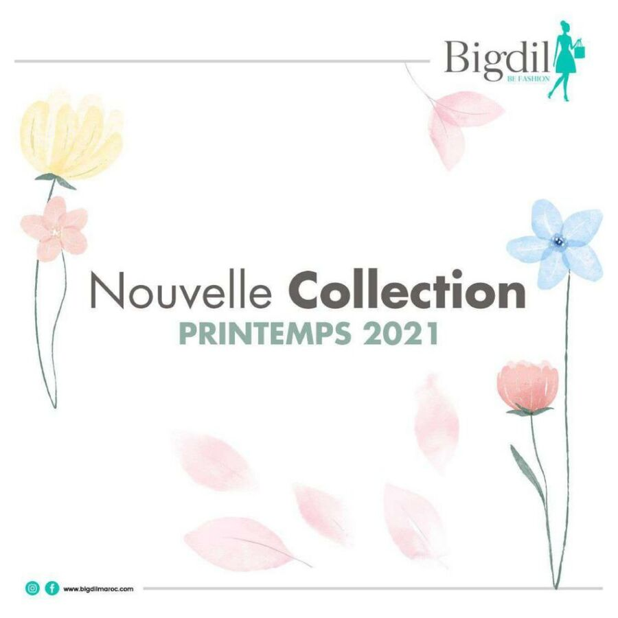 Lookbook Bigdil Nouvelle Collection Printemps valable jusqu'au 29 Mai 2021