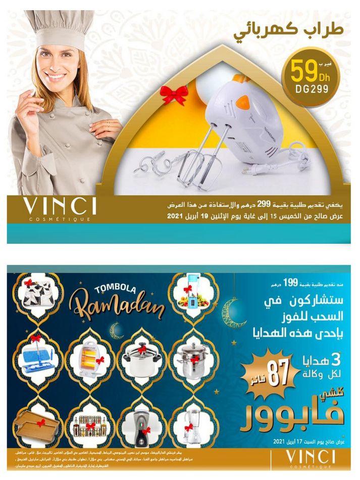Flyer Farmasi Maroc Offres Vinci Stay tuned Jusqu'au 19 Avril 2021