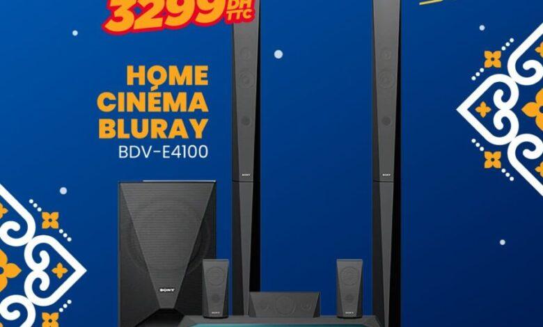 Soldes Electro Bousfiha Home cinéma BLURAY SONY 3299Dhs au lieu de 5299Dhs
