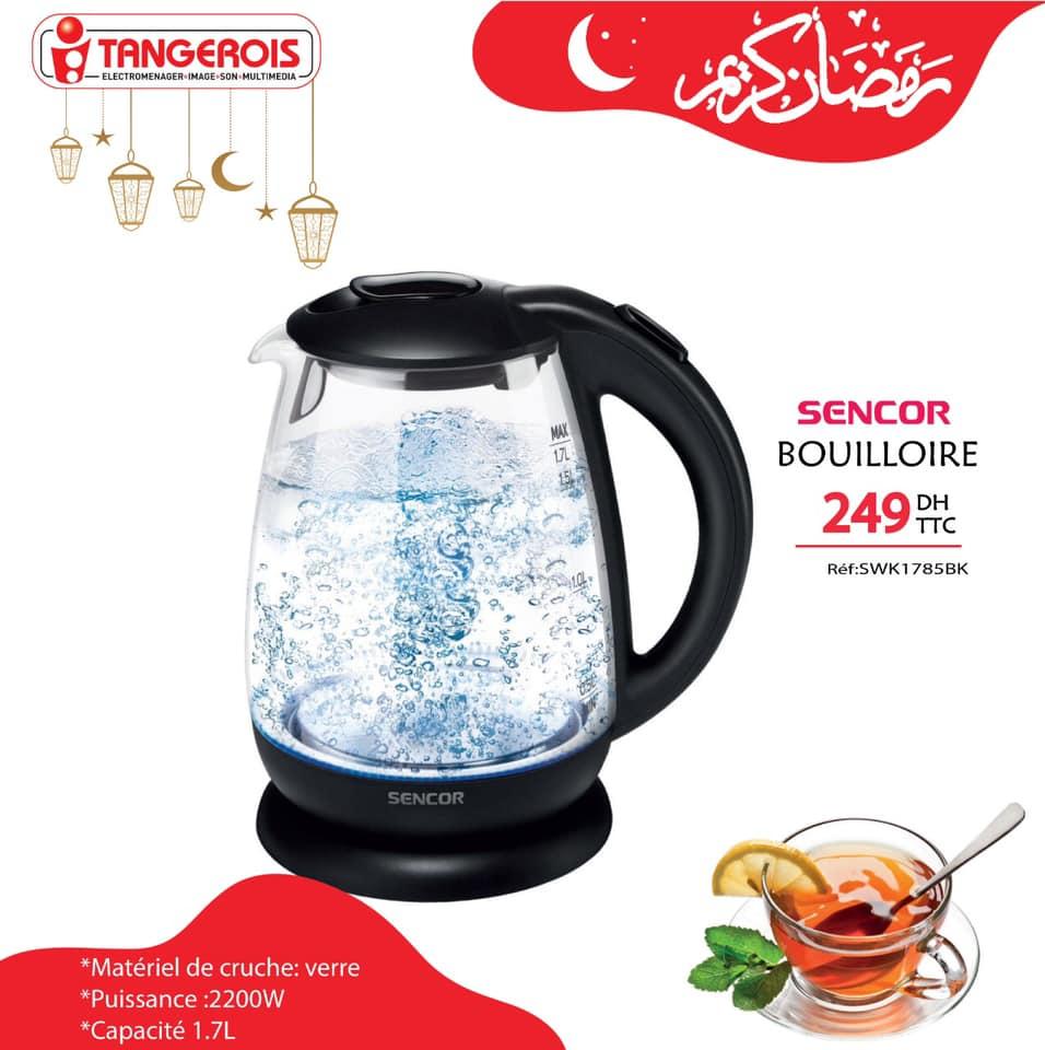 Offres de Ramadan chez Tangerois Electro Divers model de Bouilloires