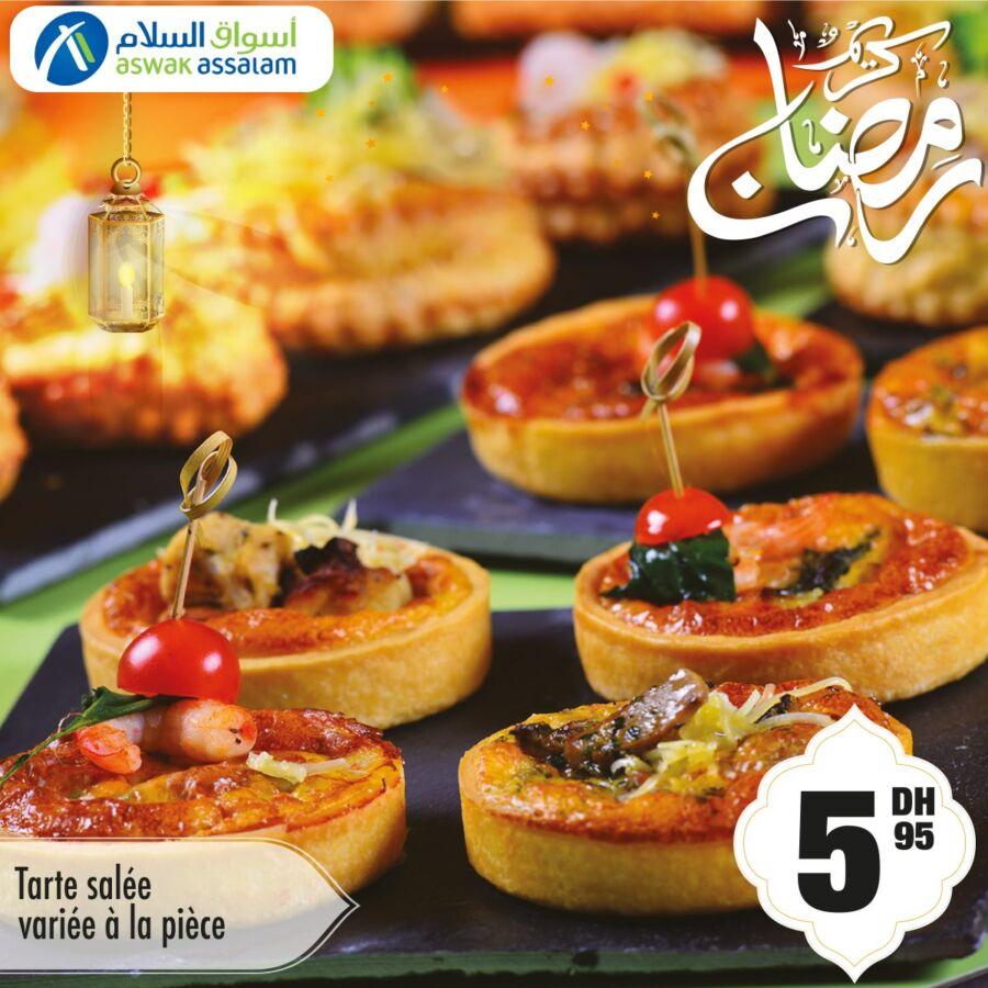 Offres Spécial du Ramadan chez Aswak Assalam شهيوات رمضان بأقل ثمن