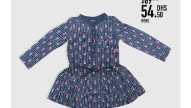 Soldes -50% Kids Avenue MH Robe pour fille 54.50Dhs au lieu de 109Dhs