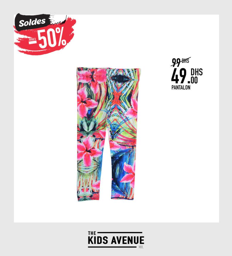 Soldes Kids Avenue MH Pantalon pour fille 49Dhs au lieu de 99Dhs