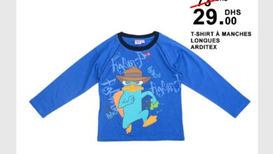 Soldes Kids Avenue MH T-shirt à manches longues ARDITEX 29Dhs au lieu de 73.99Dhs