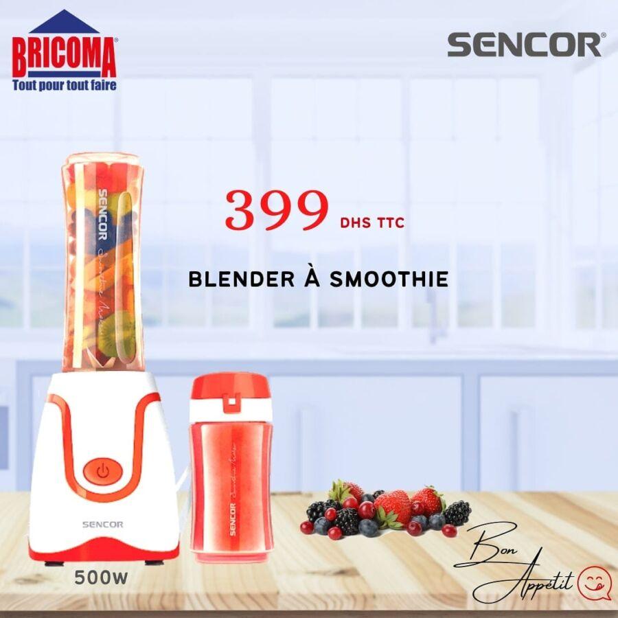 Offres du Ramadan Bricoma Blender à smoothie SENCOR 399Dhs
