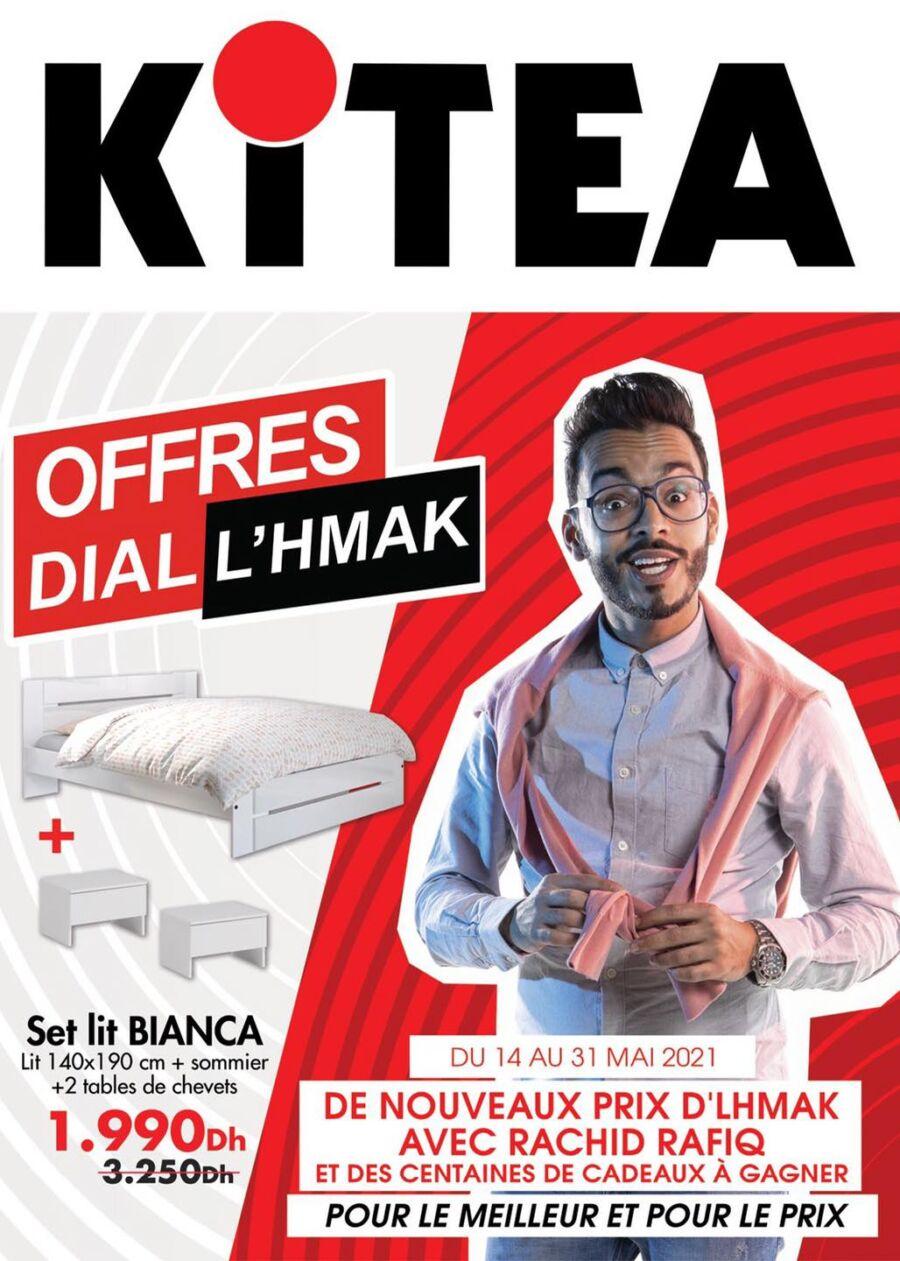 Catalogue Kitea OFFRES DIAL L'HMAK du 14 au 31 Mai 2021