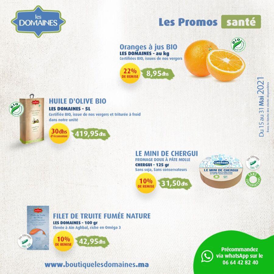 Catalogue Les Domaines Agricoles Offres Exceptionnelles du 15 au 31 Mai 2021
