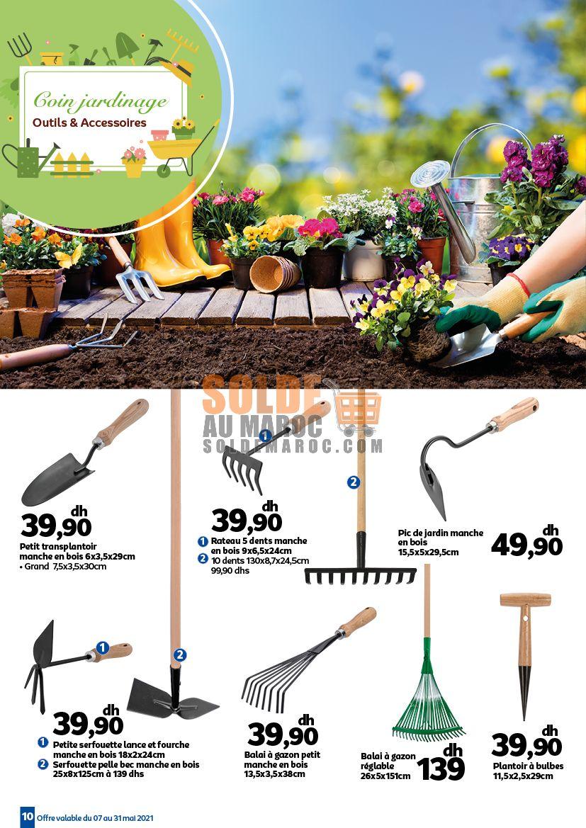 Catalogue Marjane Profitez du beau temps du 7 au 31 Mai 2021