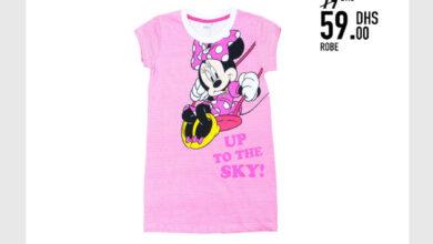 Soldes Kids Avenue MH Robe pour fille 59Dhs au lieu de 79Dhs