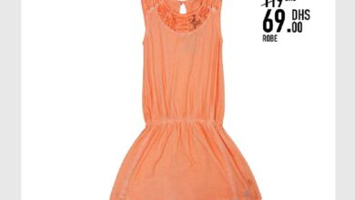 Soldes Kids Avenue MH Robe pour fille 69Dhs au lieu de 119Dhs
