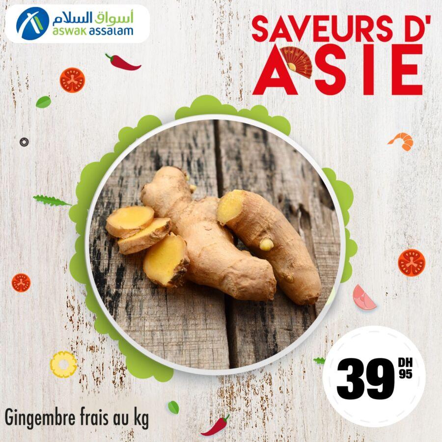 Offres Gourmand chez Aswak Assalam Spécial Saveurs d'Asie