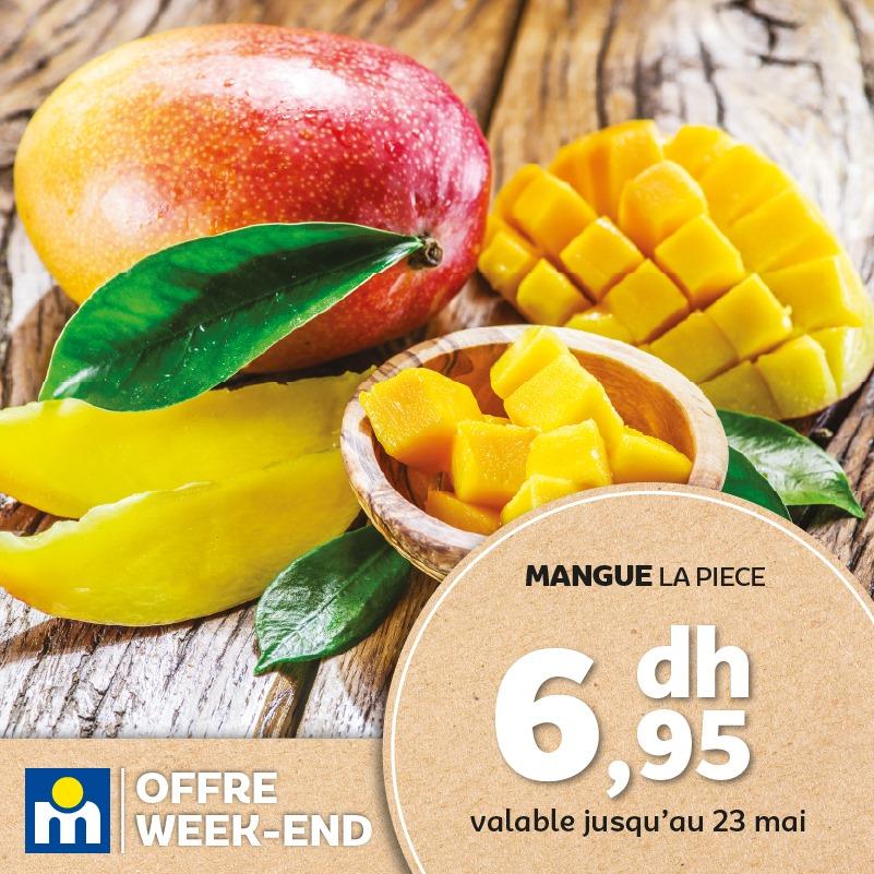 Offres du Week-end chez Marjane Valable jusqu'au 23 Mai 2021
