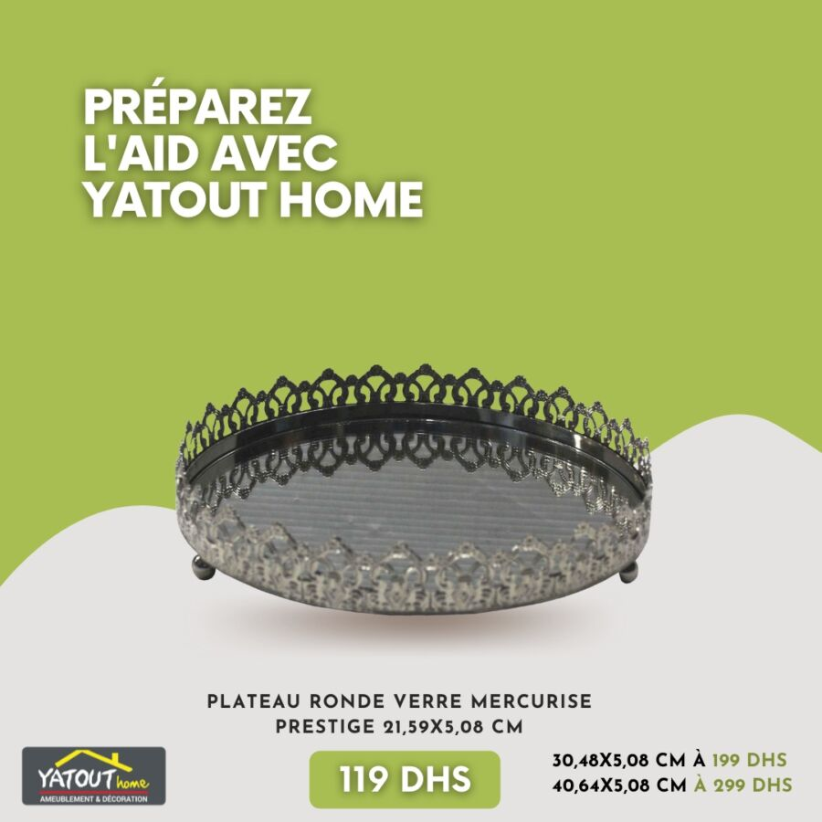 Préparez la table de L'Aid avec Yatout Home Une large sélection art de table