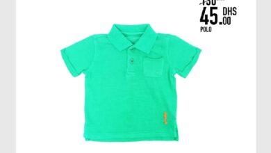 Soldes Kids Avenue MH Polo pour garçon 45Dhs au lieu de 130Dhs