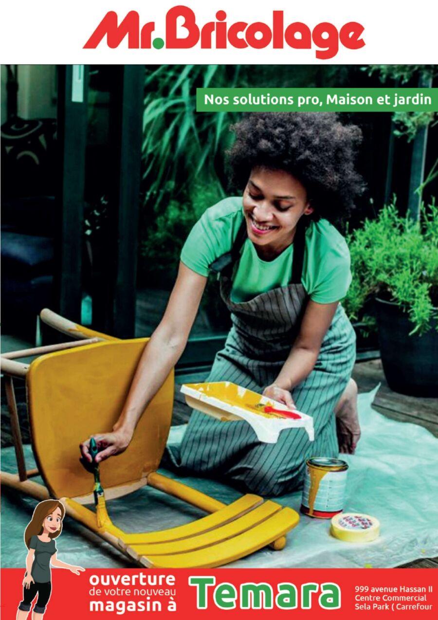 Catalogue Mr Bricolage Maroc Solution PRO Maison et Jardin du 5 Mai au 5 Juin 2021