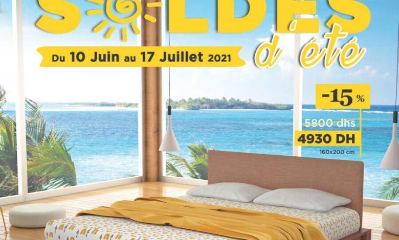 Catalogue Expert du sommeil Soldes d'été du 10 juin au 17 juillet 2021