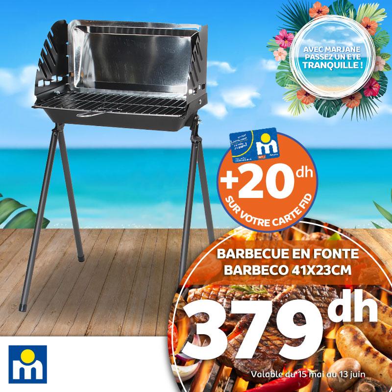 Offre Spécial Opération Barbecue chez Marjane Jusqu'au 13 Juin 2021