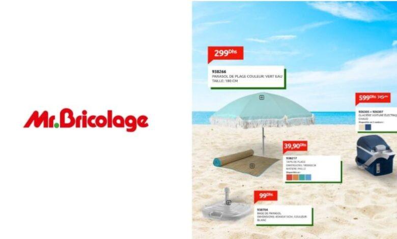 Catalogue Mr Bricolage Maroc Spécial Camping et plage édition juillet 2021