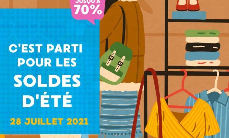 Soldes d'été à Anfaplace Mall promotions jusqu'à -70% sur l'ensemble de nos magasins