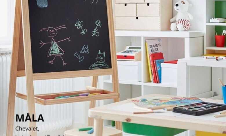 Soldes Ikea Maroc Chevalet bois de conifère MALA 299Dhs au lieu de 249Dhs